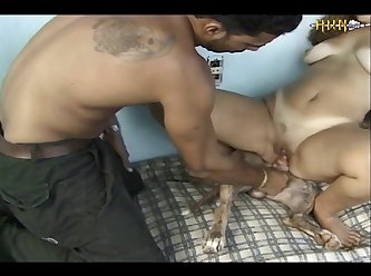 Guy Helps When Girl Fucks His Dog (part 4)