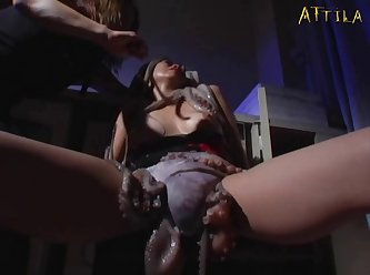 Genki Dgen005 Morale Lesbian Wriggles And Coming Octopus Wriggles 007