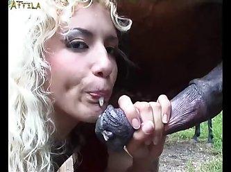 Girl Loves Horse Cum (part 15)